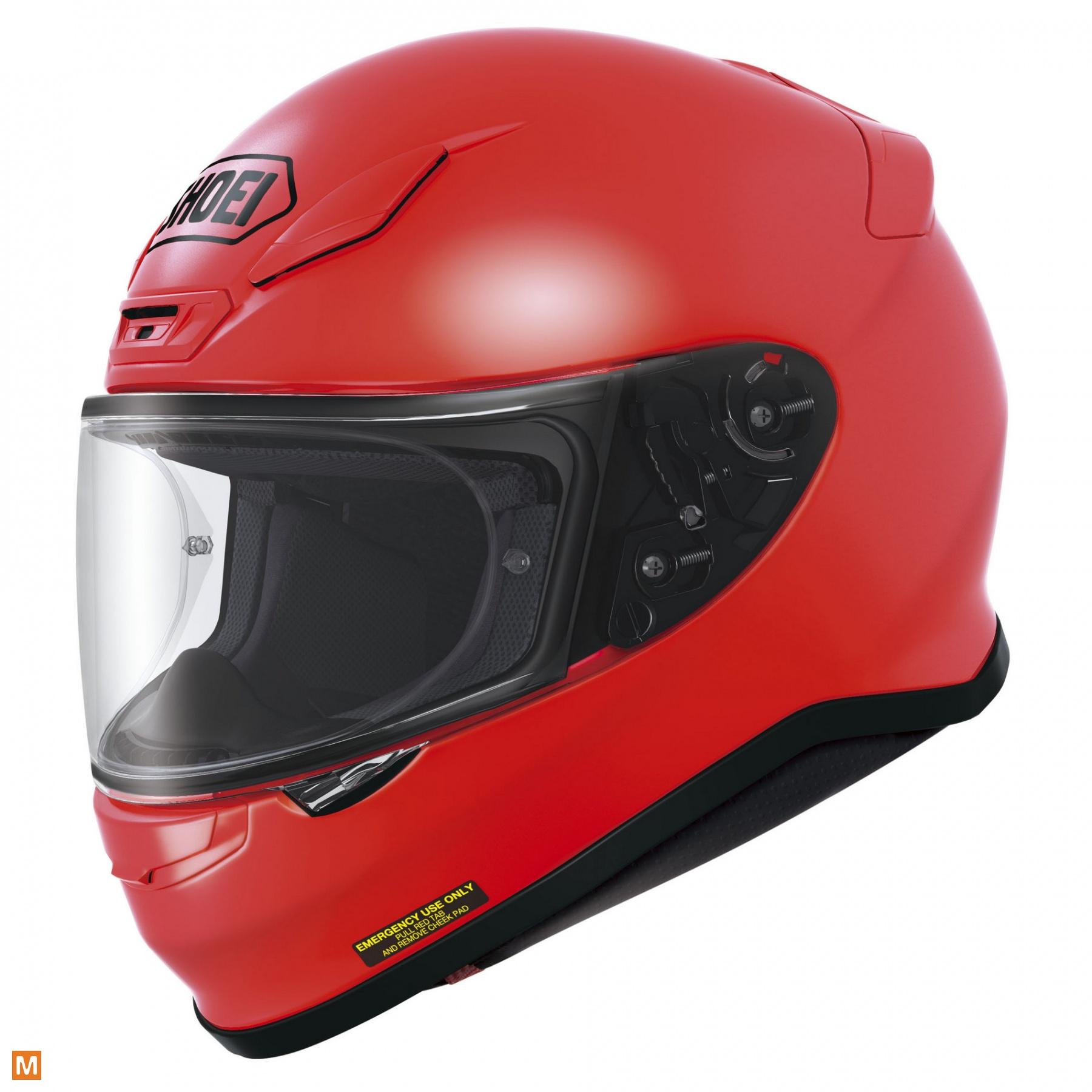 motorhelm rood