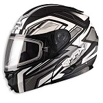 Шлем GMAX GM64 VORTEX WHITE/BLACK (MATT)