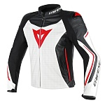 Куртка Dainese ASSEN PERFORATED W/BL/R